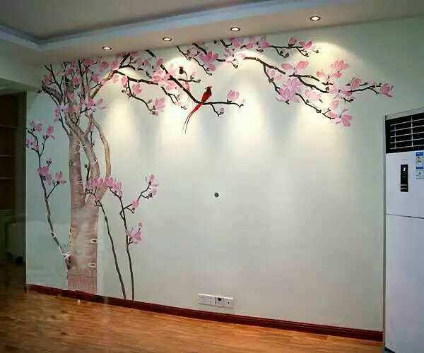 家装手绘墙画怎么样,家装手绘墙画多少钱一平米