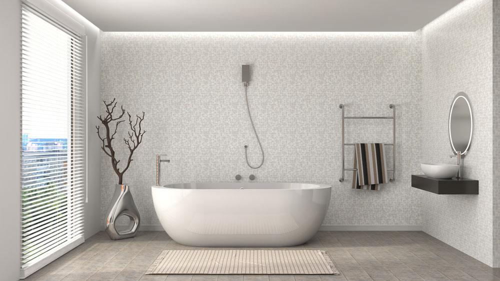 北京浴室装修浴缸样式有哪些
