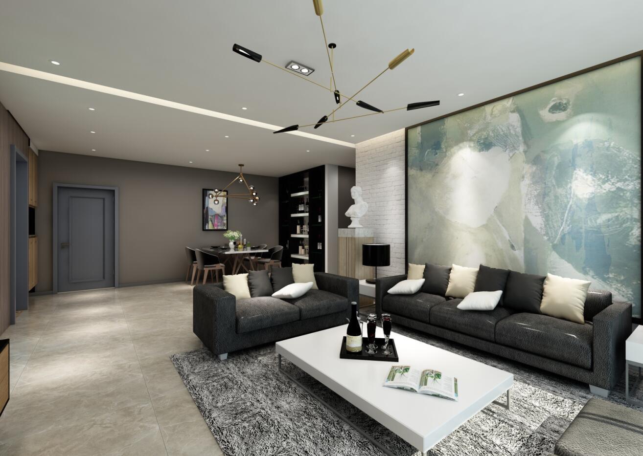 客厅装修如何搭配瓷砖颜色