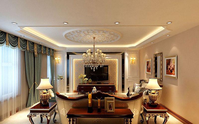 卡尔公寓小区大型欧式风格设计