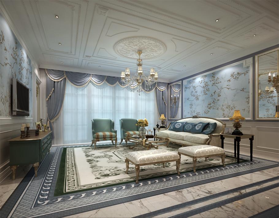 北京国际公寓浪漫法式装修案例