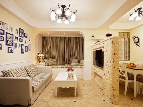 北京裝修公司教你客廳鋪什么瓷磚好