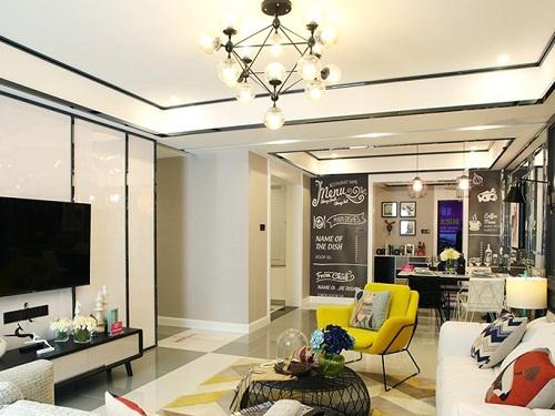 120平方房子裝修效果圖,三室兩廳裝修效果圖