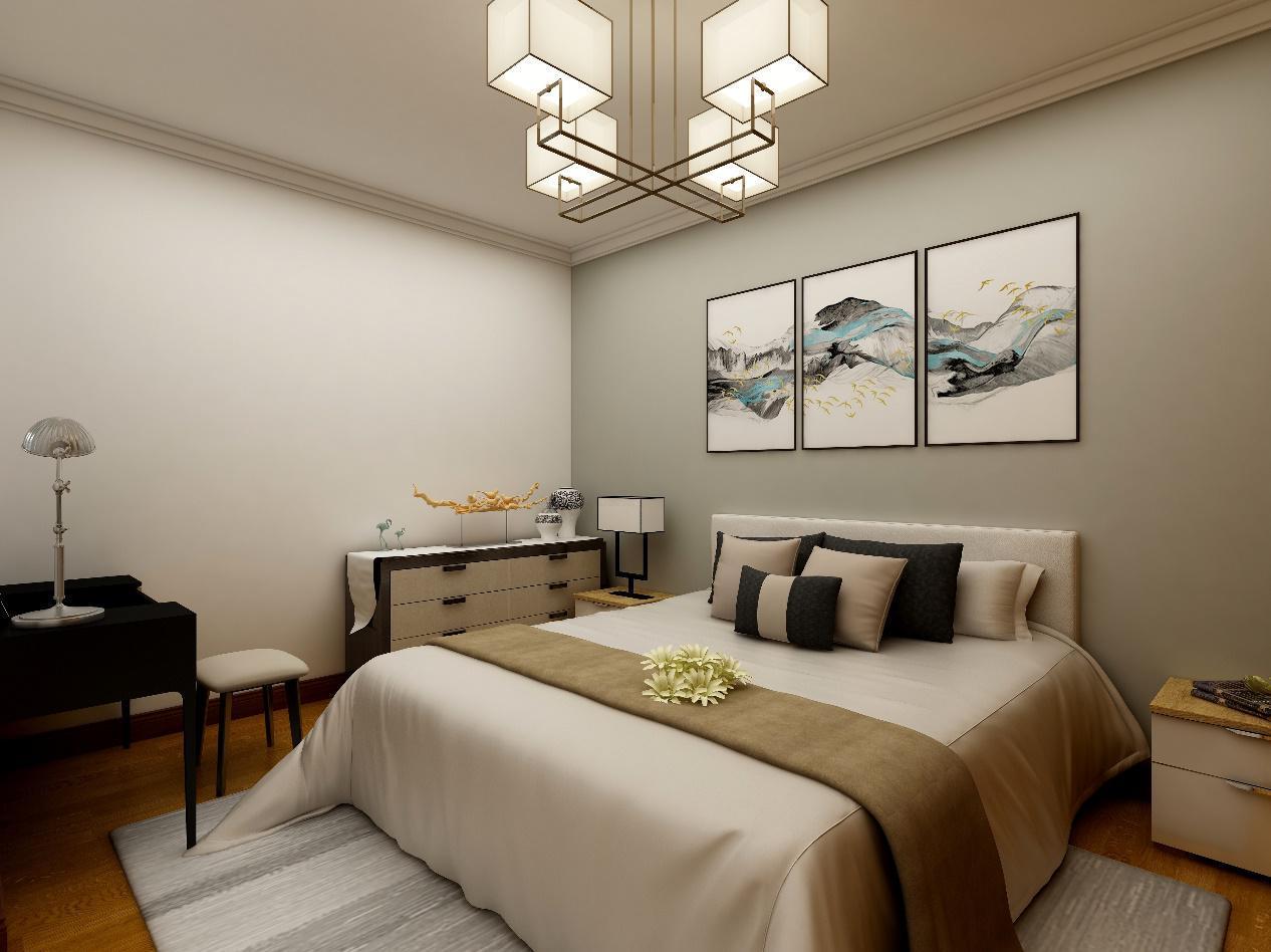 北京望陶园现代中式风格装修案例