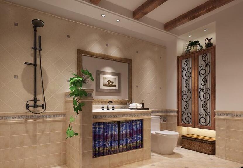 卫浴装修技巧之干湿区分离