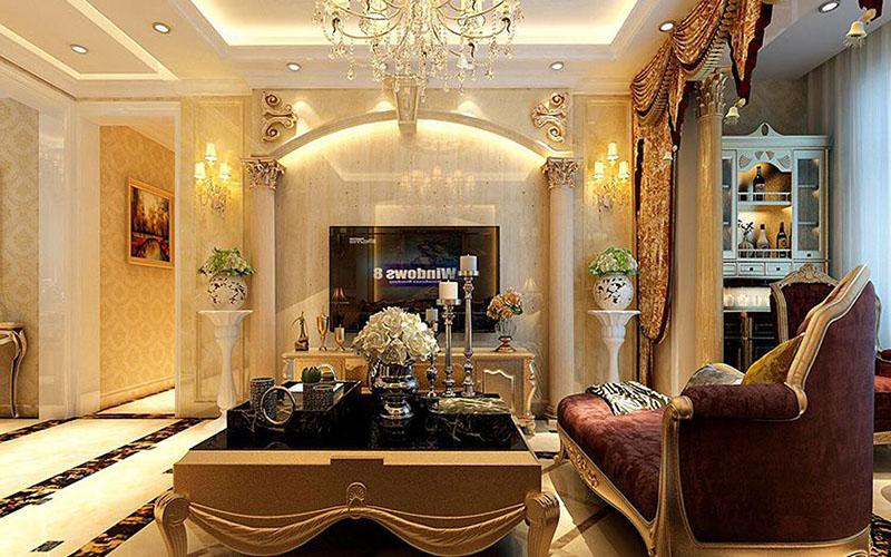无双欧式三居装修设计方案